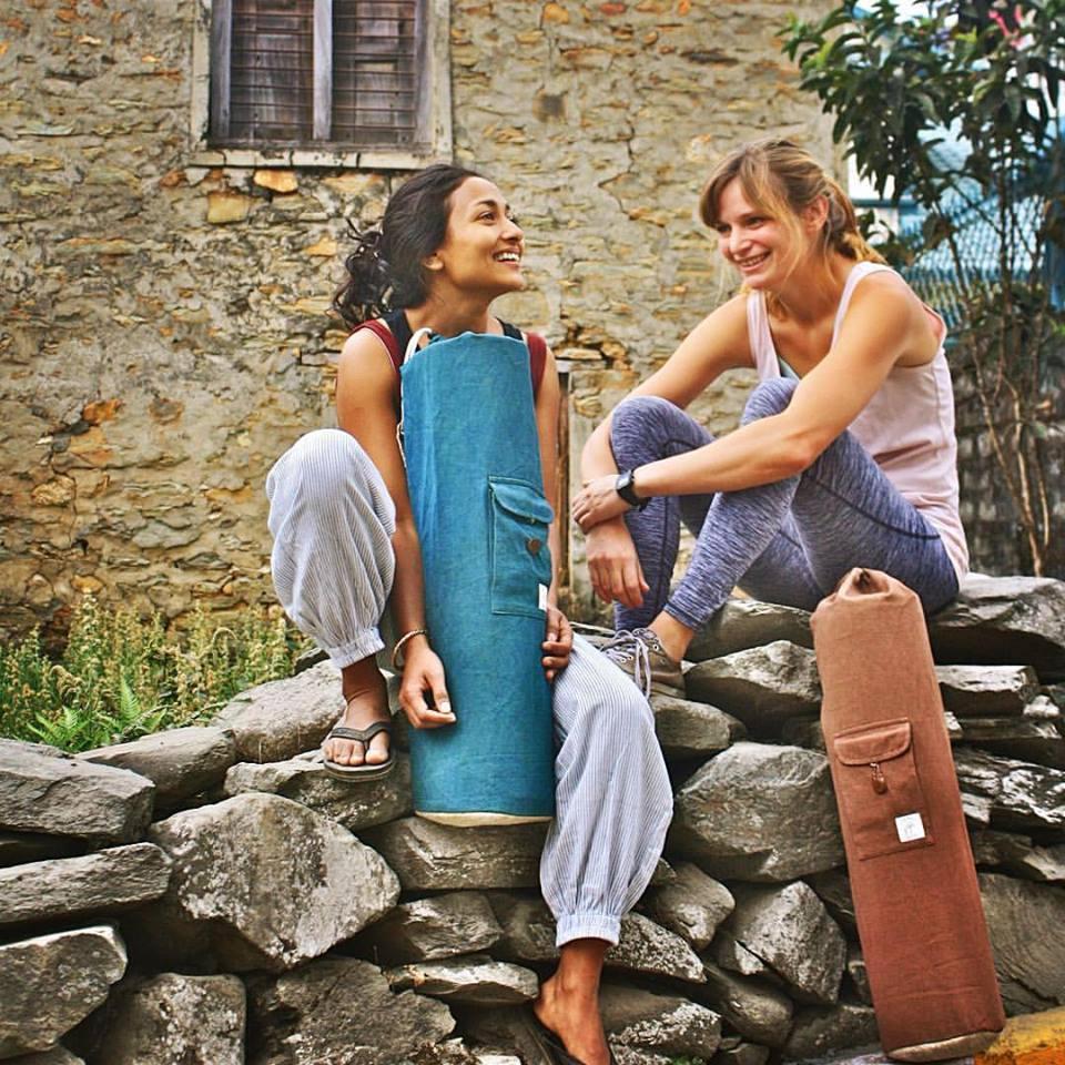 Organic Cotton Yoga Mat Bag Free Uk Shipping Indian Swaas