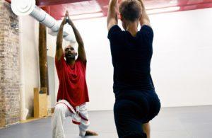 stage hatha yoga shyne tharappel