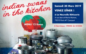 indian swaas in the kitchen 30 mars